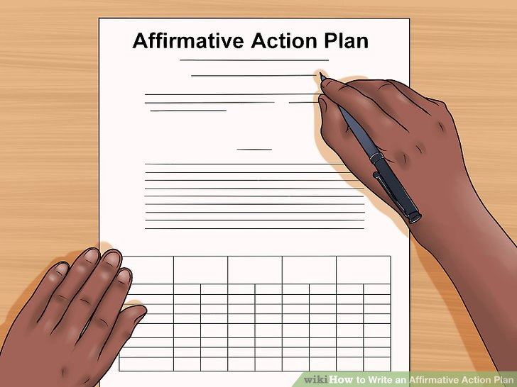 How to Write an Affirmative Action Plan 13 Steps (with Pictures)