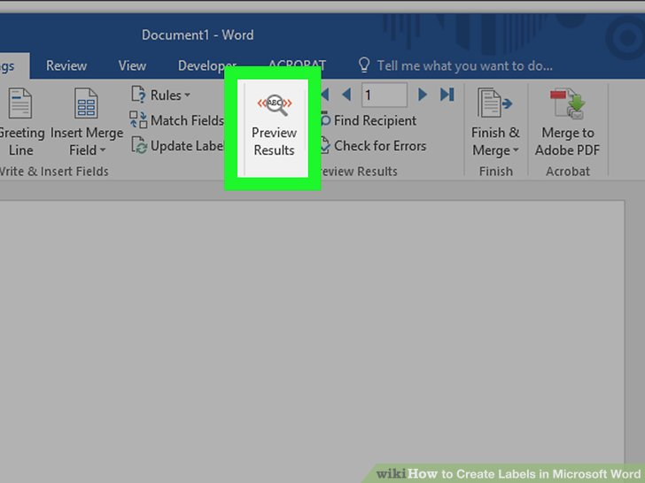 How to Create Labels in Microsoft Word (with Pictures) - wikiHow