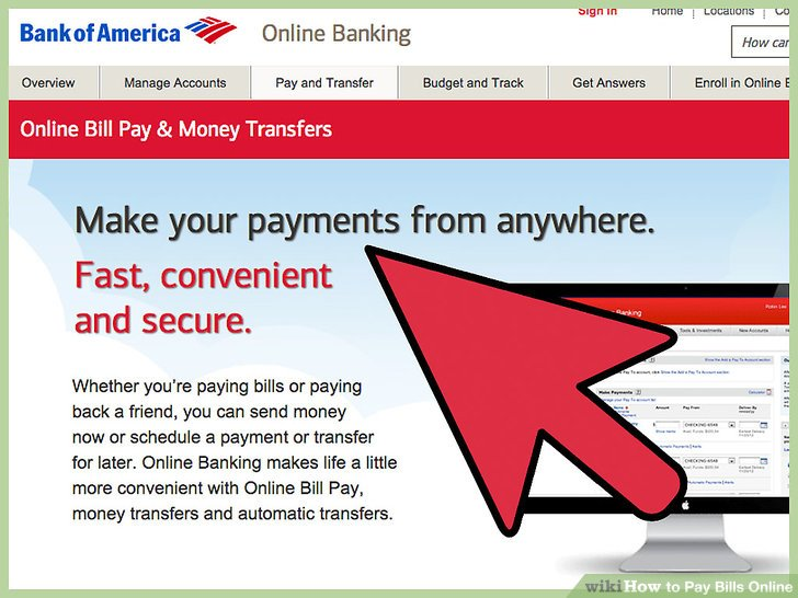 3 Ways to Pay Bills Online - wikiHow