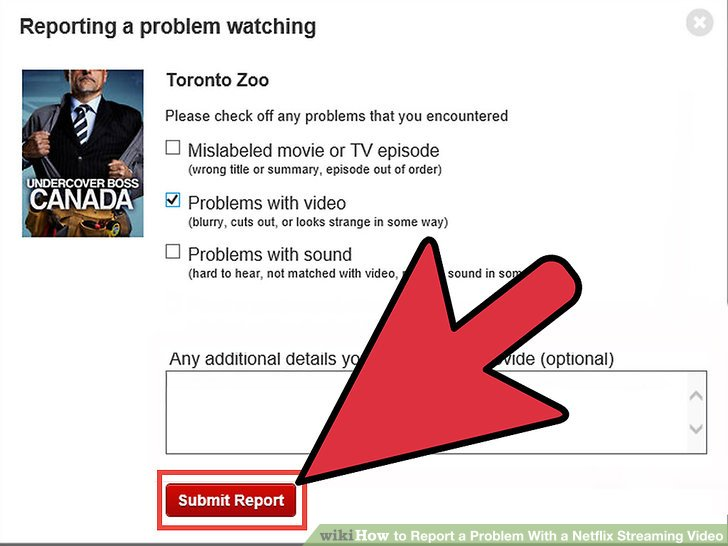 How to Report a Problem With a Netflix Streaming Video 7 Steps - problem report