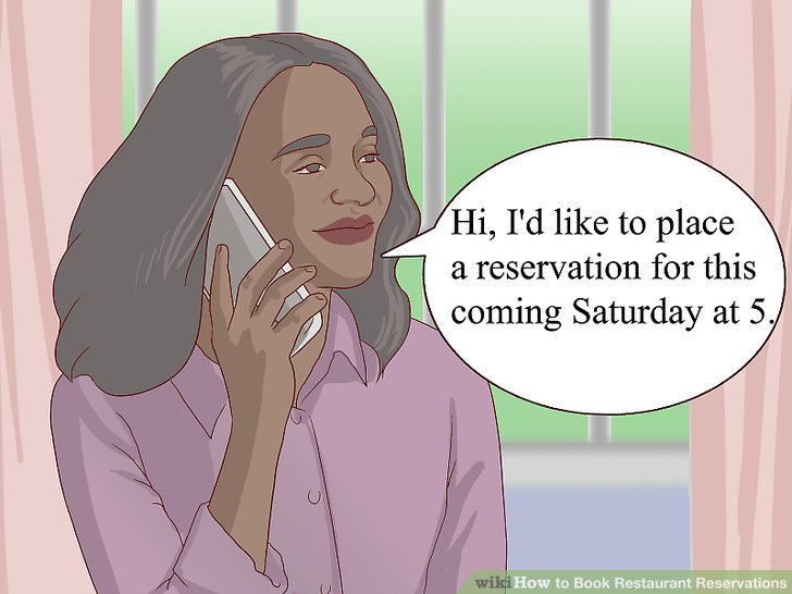3 Ways To Book Restaurant Reservations Wikihow
