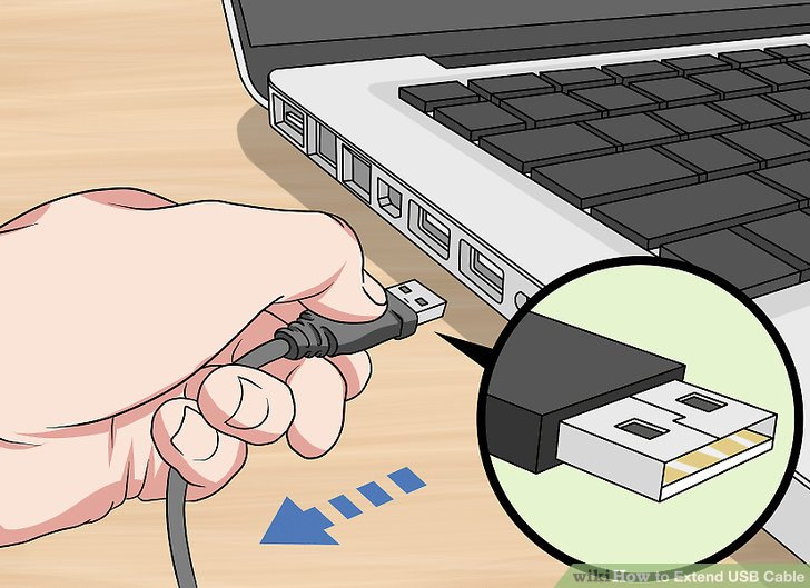 4 Ways to Extend USB Cable - wikiHow