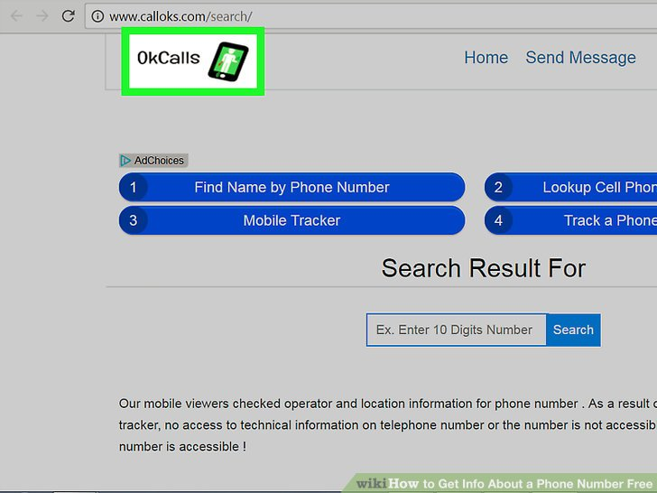 4 Easy Ways to Get Info About a Phone Number Free - wikiHow - address phone number lookup
