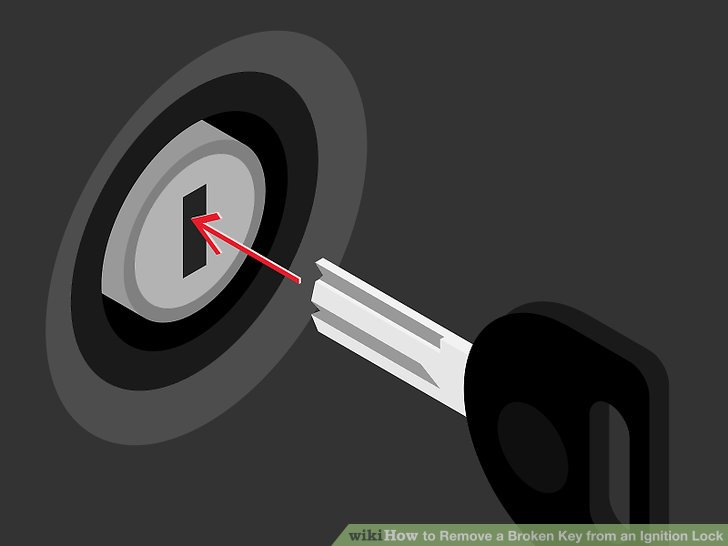3 Ways to Remove a Broken Key from an Ignition Lock - wikiHow