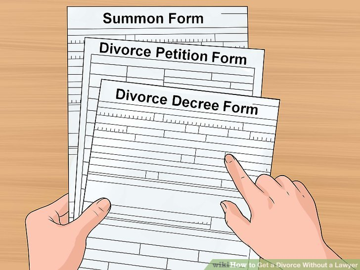 How to Get a Divorce Without a Lawyer (with Pictures) - wikiHow