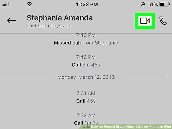 How to Record Skype Video Calls on iPhone or iPad 6 Steps