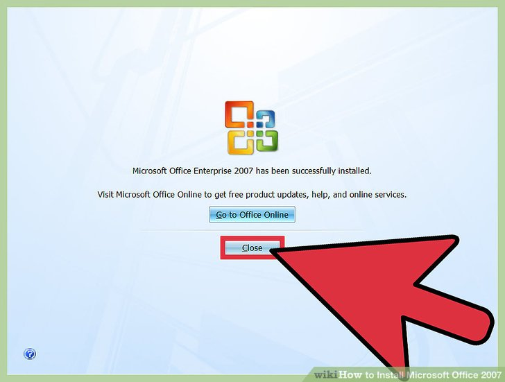 How to Install Microsoft Office 2007 13 Steps (with Pictures)