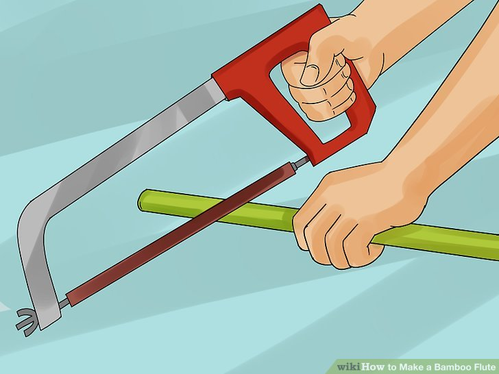 How to Make a Bamboo Flute (with Pictures) - wikiHow