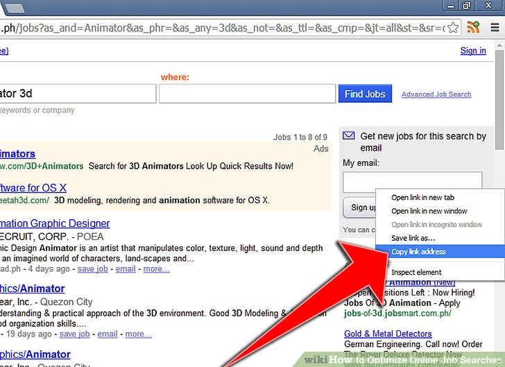 How to Optimize Online Job Searches 6 Steps (with Pictures)