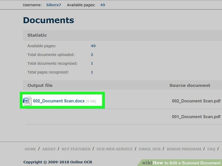 How to Edit a Scanned Document (with Pictures) - wikiHow