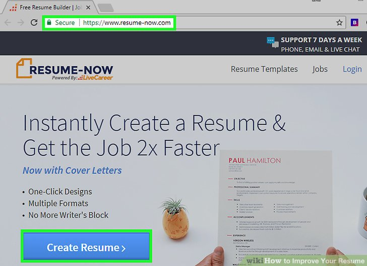 2 Easy Ways to Improve Your Resume (with Pictures) - how to improve your resume