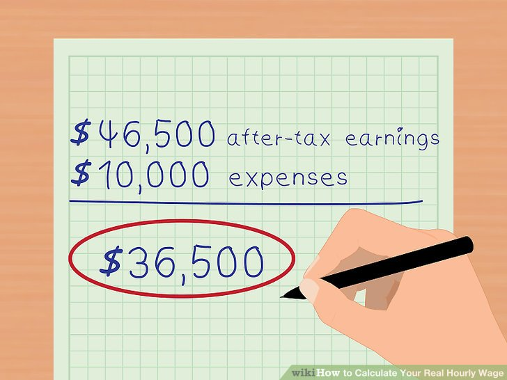 3 Ways to Calculate Your Real Hourly Wage - wikiHow