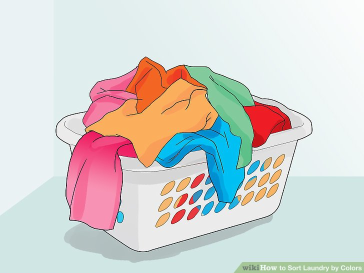 3 Ways to Sort Laundry by Colors - wikiHow