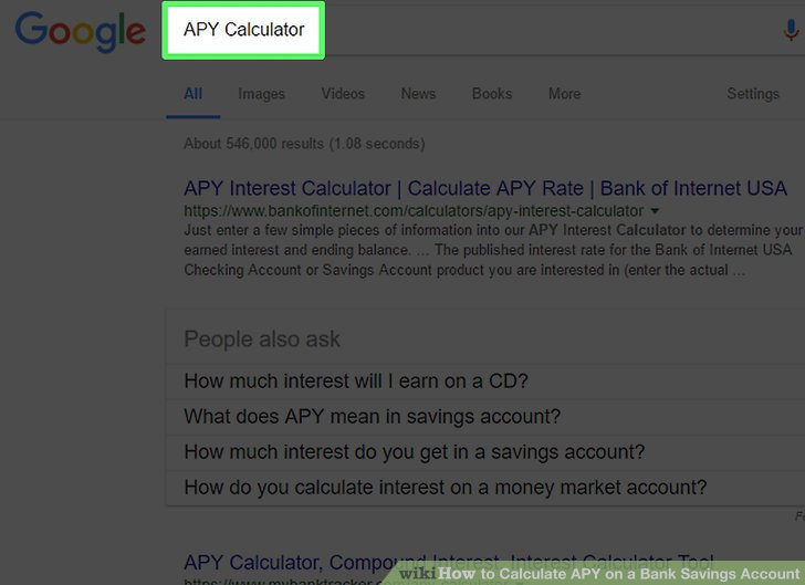 3 Ways to Calculate APY on a Bank Savings Account - wikiHow