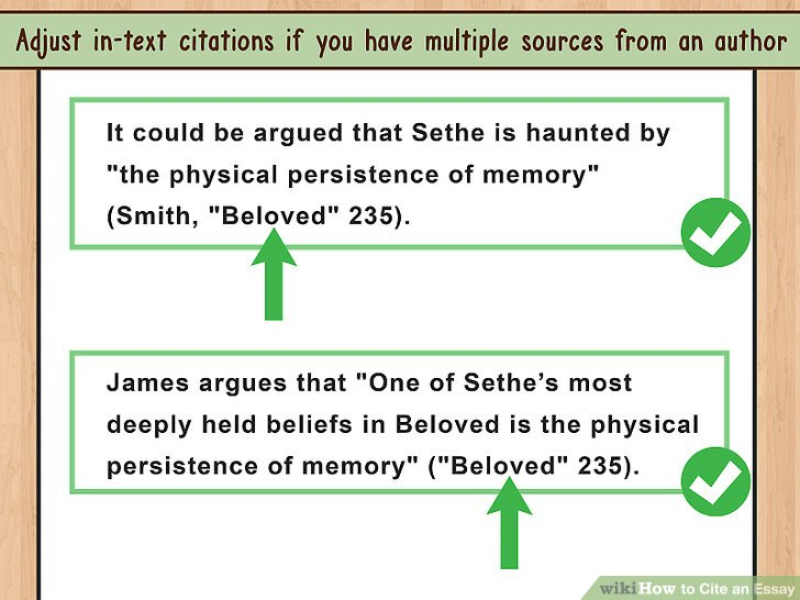 4 Ways to Cite an Essay - wikiHow
