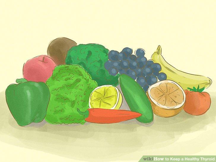 3 Ways to Keep a Healthy Thyroid - wikiHow