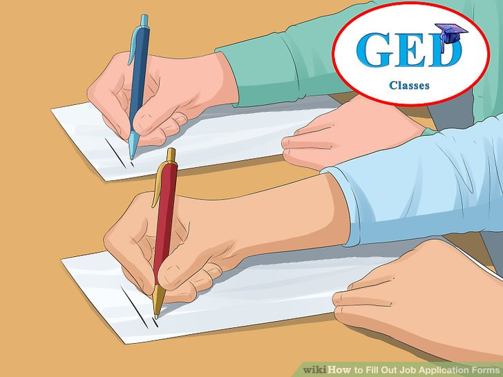 3 Ways to Fill Out Job Application Forms - wikiHow - job application forms