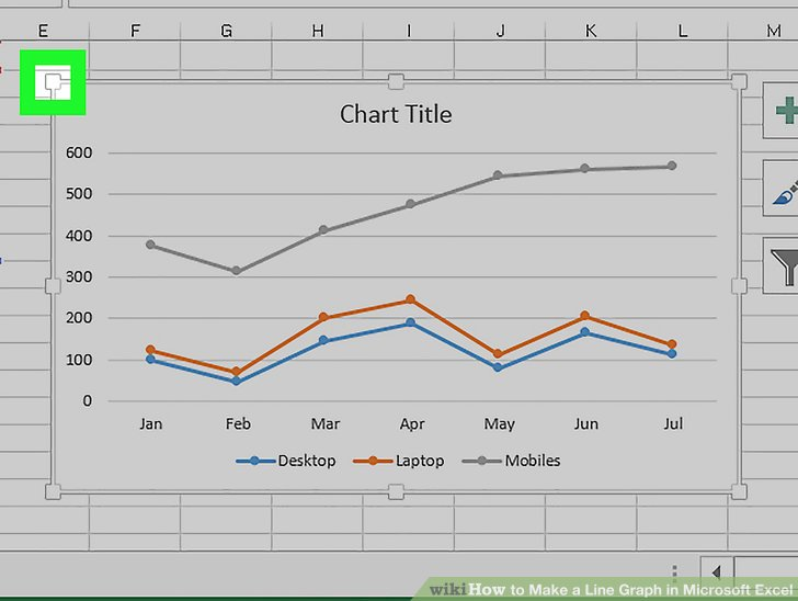 2 Easy Ways to Make a Line Graph in Microsoft Excel - How To Graph Excel