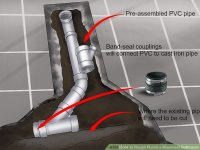 How to Rough Plumb a Basement Bathroom (with Pictures ...