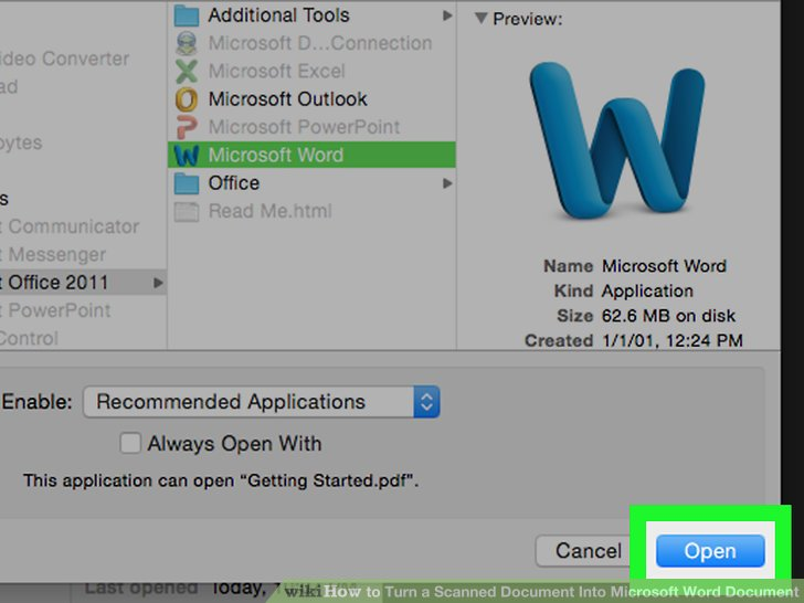 3 Ways to Turn a Scanned Document Into Microsoft Word Document
