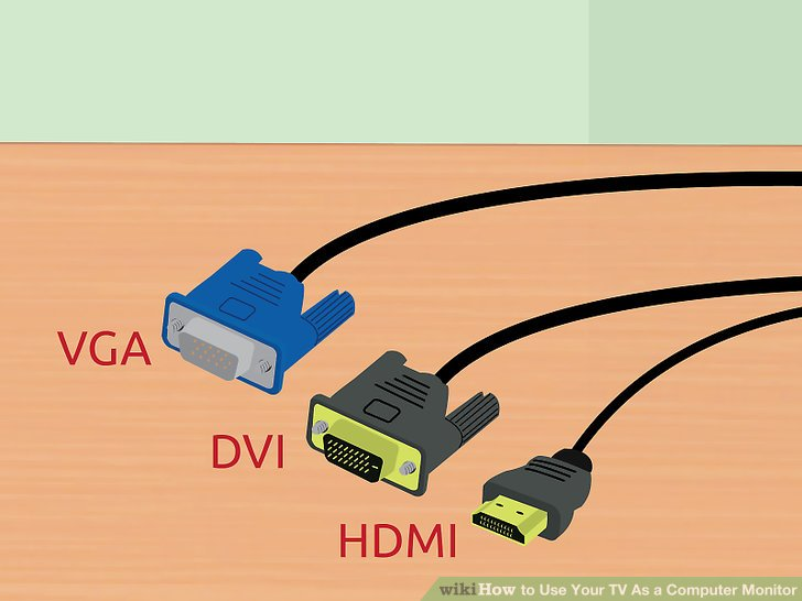 3 Easy Ways to Use Your TV As a Computer Monitor - wikiHow