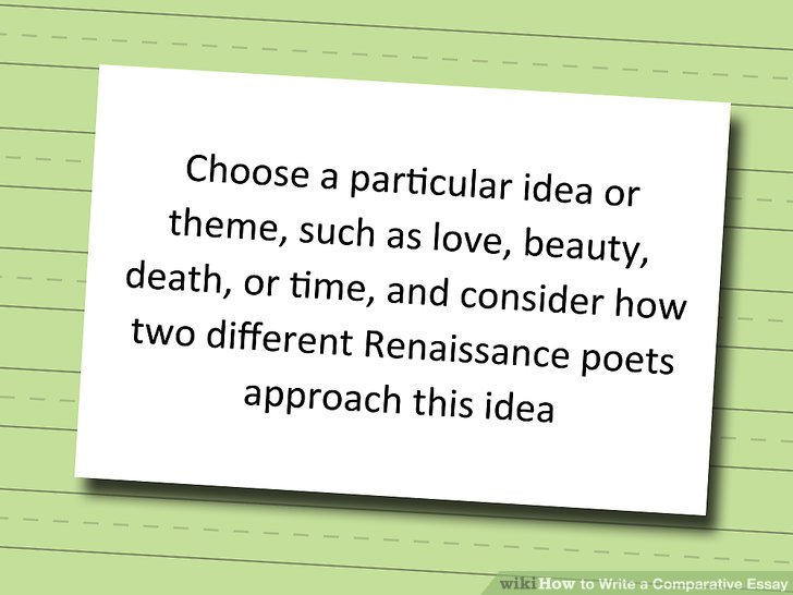 How to Write a Comparative Essay (with Pictures) - wikiHow