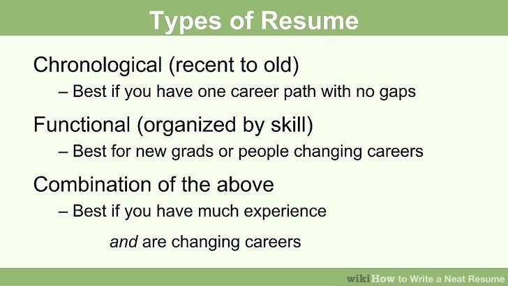 How to Write a Neat Resume 13 Steps (with Pictures) - wikiHow - best font for a resume