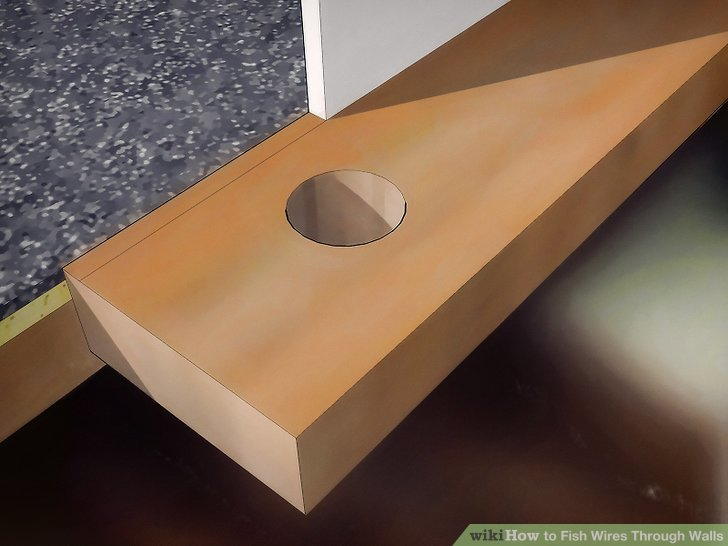 How to Fish Wires Through Walls 14 Steps (with Pictures)