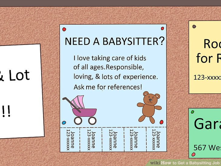 How to Get a Babysitting Job 13 Steps (with Pictures) - wikiHow
