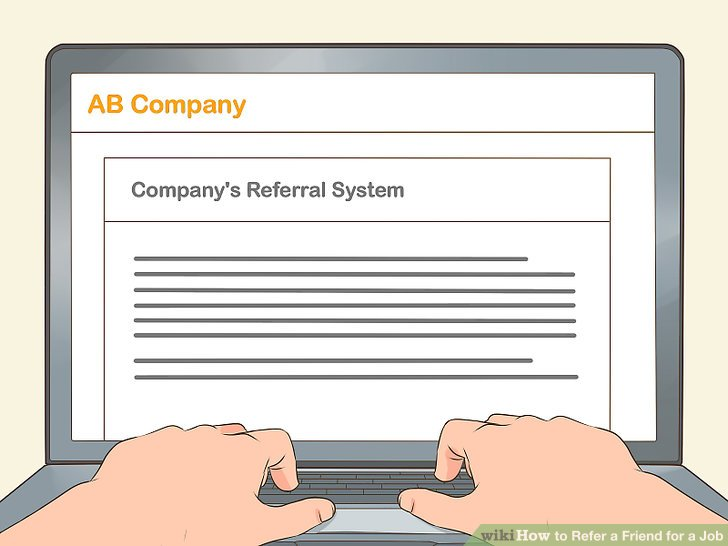 How to Refer a Friend for a Job (with Pictures) - wikiHow