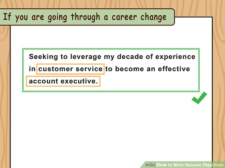 How to Write Resume Objectives (with Examples) - wikiHow - Resume Objective It