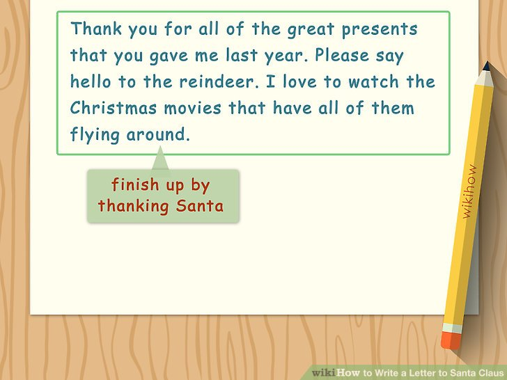 How to Write a Letter to Santa Claus (with Sample Letter)