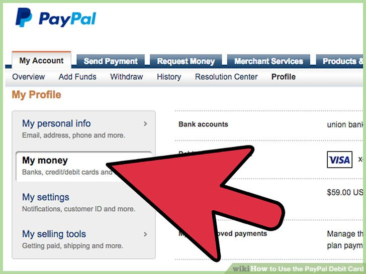 How to Use the PayPal Debit Card 8 Steps (with Pictures)