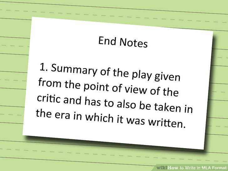 How to Write in MLA Format (with Pictures) - wikiHow