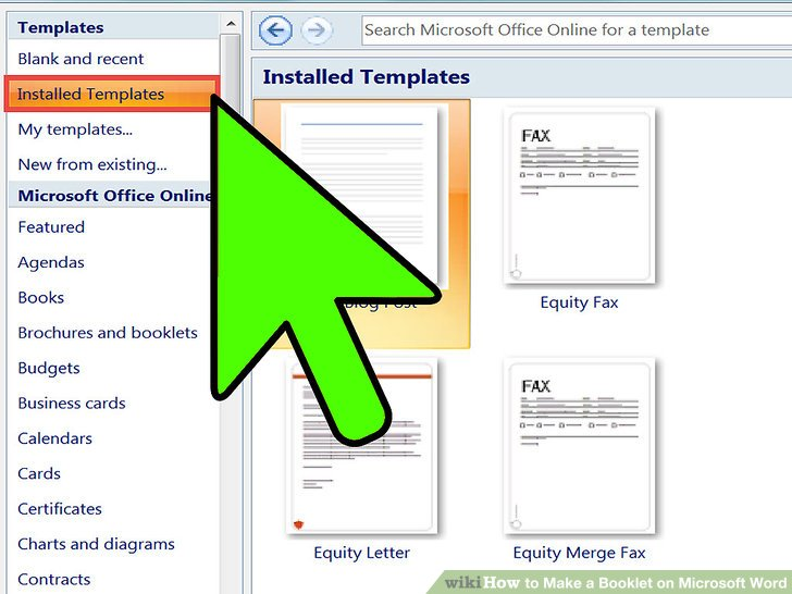 2 Easy Ways to Make a Booklet on Microsoft Word - wikiHow - microsoft word book template