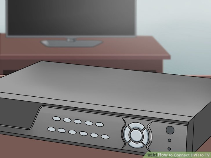 4 Ways to Connect DVR to TV - wikiHow