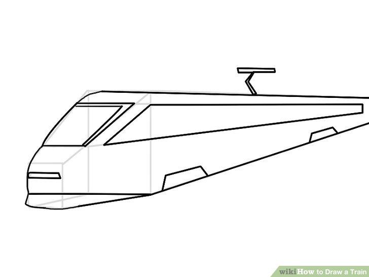 4 Ways to Draw a Train - wikiHow