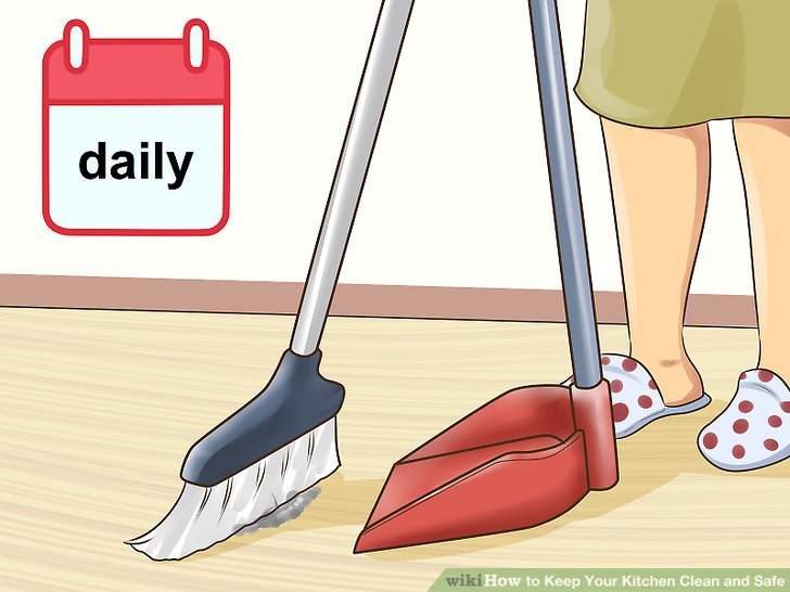 How To Keep Your Kitchen Clean And Safe With Pictures