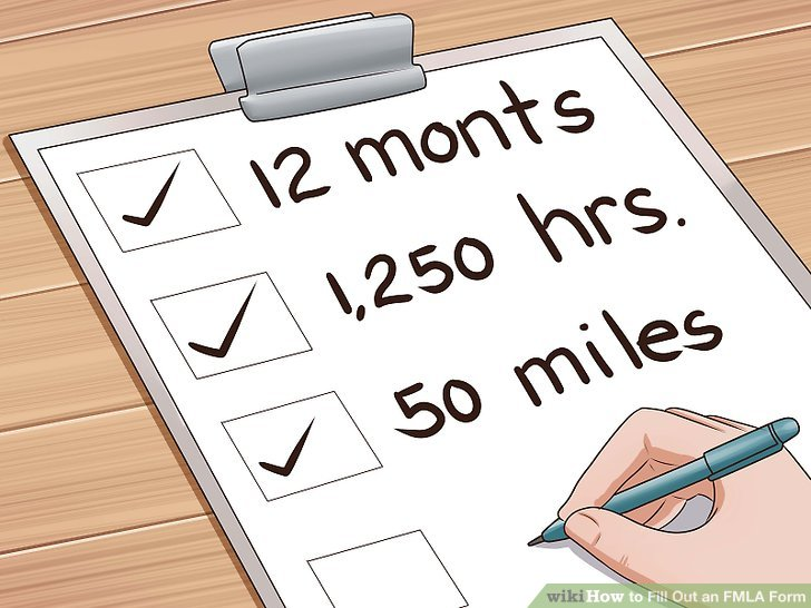 How to Fill out an FMLA Form 12 Steps (with Pictures) - wikiHow