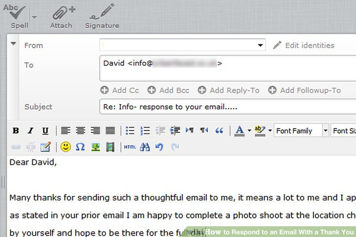 How to Respond to an Email With a Thank You 3 Steps - thank you email