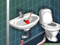 How to Plumb a Bathroom: 11 Steps (with Pictures) - wikiHow