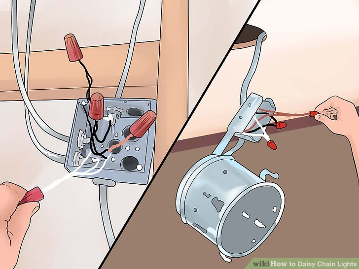How to Daisy Chain Lights (with Pictures) - wikiHow