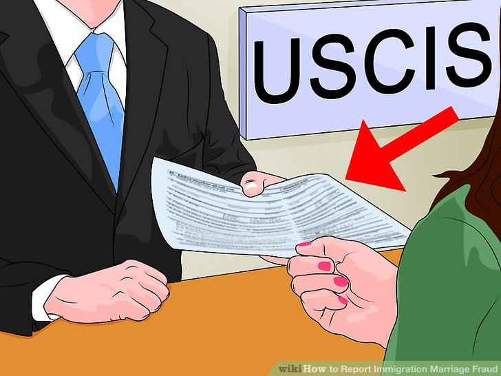 3 Ways to Report Immigration Marriage Fraud - wikiHow