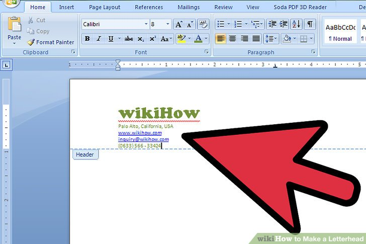 The 2 Best Ways to Make a Letterhead - wikiHow