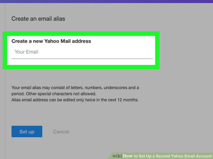 How to Set Up a Second Yahoo Email Account 11 Steps
