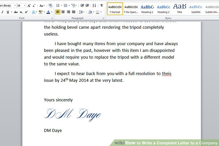 write a letter of complaint how to write a letter of complaint