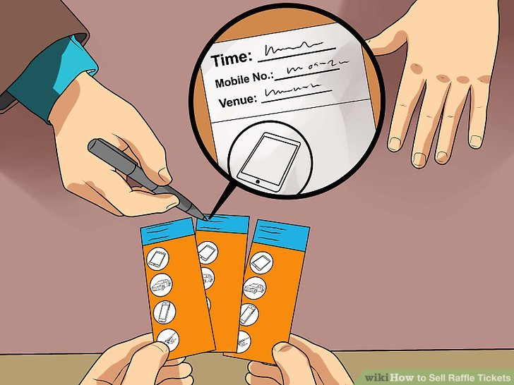 How to Sell Raffle Tickets 13 Steps (with Pictures) - wikiHow
