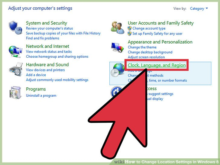 3 Ways to Change Location Settings in Windows 8 - wikiHow