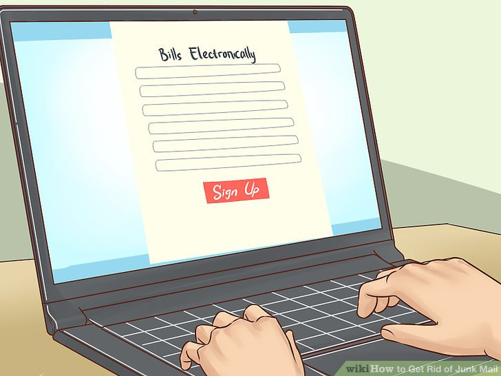 How to Get Rid of Junk Mail (with Pictures) - wikiHow