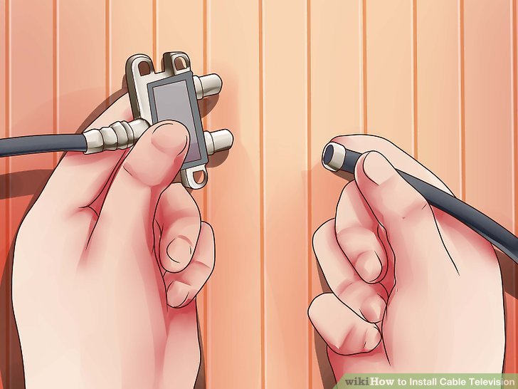 How to Install Cable Television 14 Steps (with Pictures)